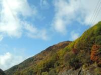 安曇野はすでに紅葉の季節となっていた