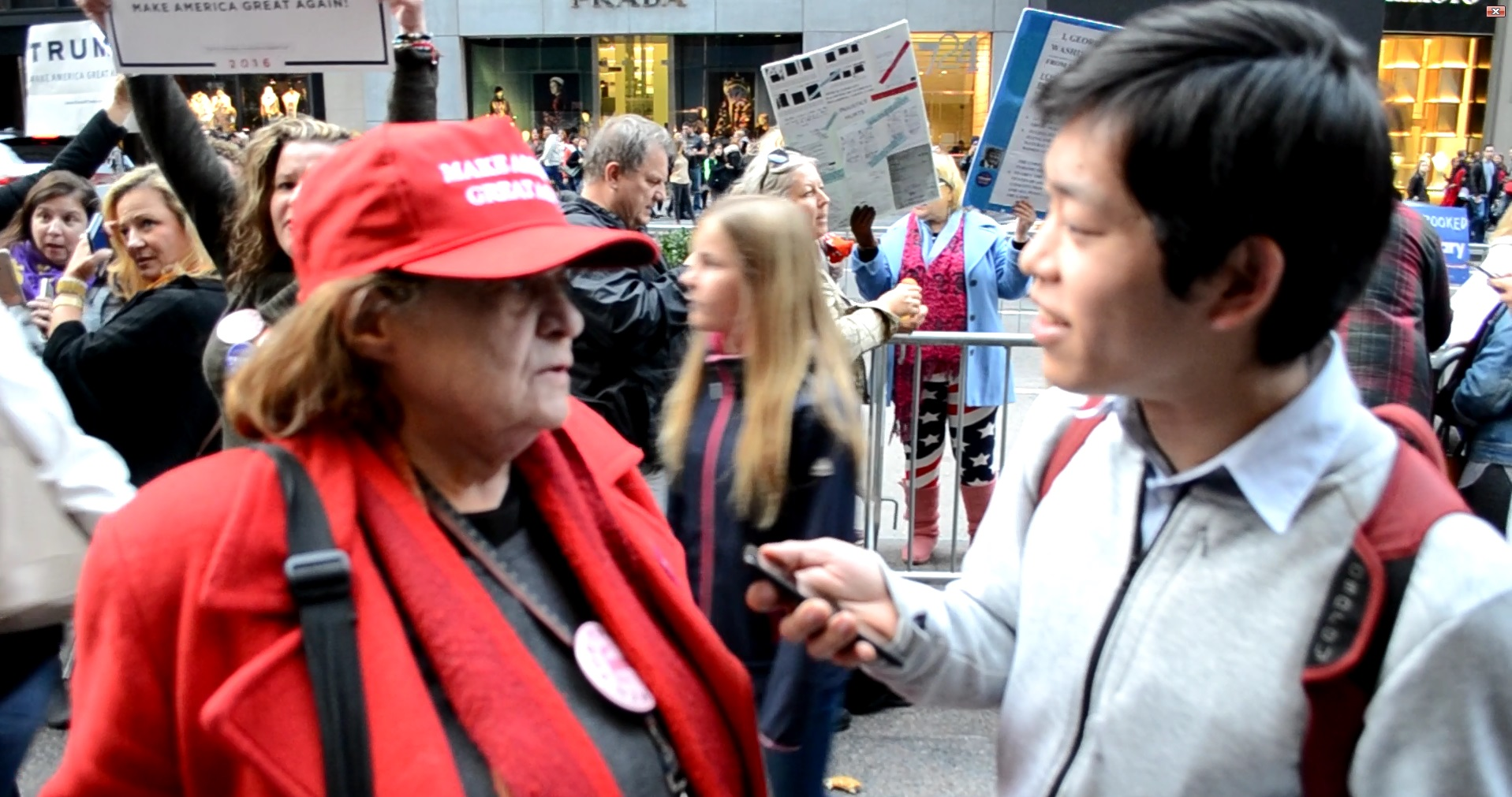 Interview to Trump supporter